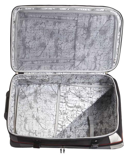 "Harley-Davidson® 29"" Thunder Road Pullman Wheeling Luggage, Gray/Black 99330-GB"