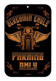 Harley-Davidson® Screamin' Eagle Vintage Parking Sign, 17 x 11 in HARLNV010500