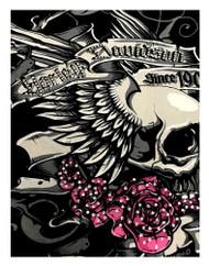 Harley-Davidson® Women's Eternity Embellished V-Neck Short Sleeve Tee, Black