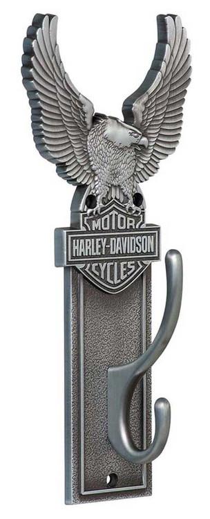 Harley-Davidson® Eagle Bar & Shield Coat Hook Heavy-Duty Antique Finish HDL-10143 - Wisconsin Harley-Davidson