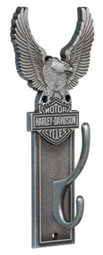 Harley-Davidson® Eagle Bar & Shield Coat Hook Heavy-Duty Antique Finish HDL-10143 - Wisconsin Harley-Davidson