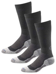 Harley-Davidson® Men's Performance CoolMax Riding Socks, D99980970-001, 3 Pairs - Wisconsin Harley-Davidson