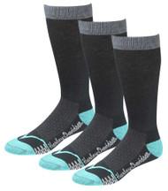 Harley-Davidson® Women's CoolMax Performance Rider Socks (Teal, Med), 3 Pairs - Wisconsin Harley-Davidson