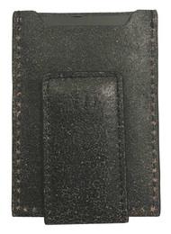 Harley-Davidson® Mens Burnished Military Front Pocket Leather Wallet BM6162L-BLK - Wisconsin Harley-Davidson