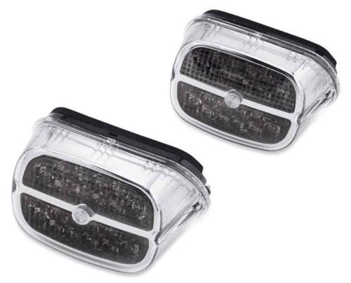 Harley-Davidson® B&S LED Tail Lamp - Smoked Lens & Chrome Bezel 67800459 - Wisconsin Harley-Davidson
