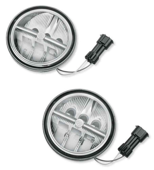Harley-Davidson® 4.5 in Daymaker Reflector LED Auxiliary Lamps 68000075 - Wisconsin Harley-Davidson
