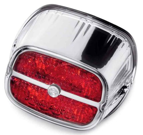 Harley-Davidson® Bar & Shield LED Tail Lamp - Red Lens & Chrome Bezel 68116-08 - Wisconsin Harley-Davidson