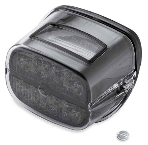 Harley-Davidson® Bar & Shield LED Tail Lamp - Smoke Lens & Black Bezel 68087-08 - Wisconsin Harley-Davidson