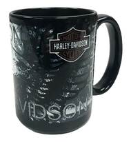 Harley-Davidson® Distressed Eagle Bar & Shield Coffee Mug 15 oz Black HD-HD-923-2 - Wisconsin Harley-Davidson