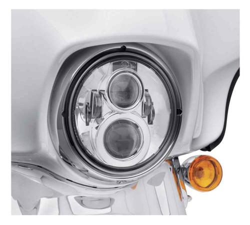 Harley-Davidson® 7 in Daymaker Projector LED Headlamp - Chrome Finish 67700264 - Wisconsin Harley-Davidson