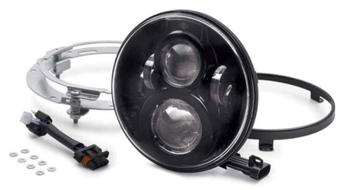 Harley-Davidson® 7 in Daymaker Projector LED Headlamp - Gloss Black 67700266 - Wisconsin Harley-Davidson