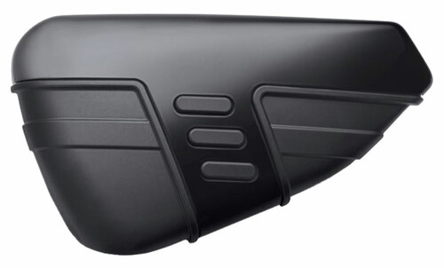 Harley-Davidson® Cut Back Battery Cover, Fits 14-later XL Models, Black 57200140 - Wisconsin Harley-Davidson