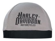 Harley-Davidson® Men's Harley Life Script Skull Cap, Gray & Black SK22012 - Wisconsin Harley-Davidson