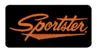 Harley-Davidson® Embroidered Sportster Emblem Patch, Small 4 x 2 in. EMB062643 - Wisconsin Harley-Davidson