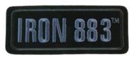 Harley-Davidson® Embroidered Iron 883 Emblem Patch, SM 4.125 x 1.75 in EM187802 - Wisconsin Harley-Davidson