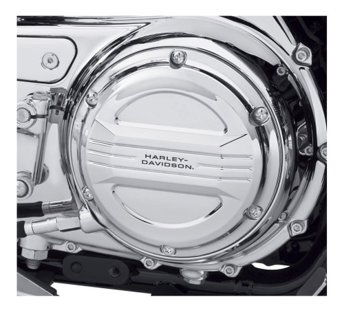 Harley-Davidson® Airflow Derby Cover - Mirror Chrome, Fits XL Models 25700506 - Wisconsin Harley-Davidson