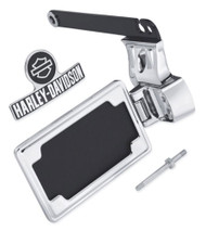 Harley-Davidson® Side-Mount License Plate Kit - Chrome, Fits Dyna Models 60938-10 - Wisconsin Harley-Davidson