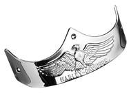 Harley-Davidson® Rear Eagle Fender Trim - Chrome, Fits Fat Boy Models 59286-90 - Wisconsin Harley-Davidson