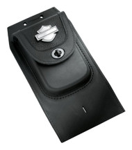 Harley-Davidson® Premium Tank Panel w/ Pouch, Fits Fat Boy Models 91135-09 - Wisconsin Harley-Davidson