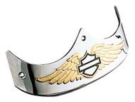 Harley-Davidson® Rear Eagle Wing B&S Fender Trim, Fits Fat Boy Models 59369-97 - Wisconsin Harley-Davidson