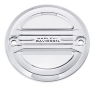 Harley-Davidson® Airflow Timer Cover - Mirror Chrome, Fits XL Models 25600047 - Wisconsin Harley-Davidson