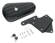 Harley-Davidson® Softail Toolbox - Gloss Black Finish, Left Hand Mount 64216-09 - Wisconsin Harley-Davidson