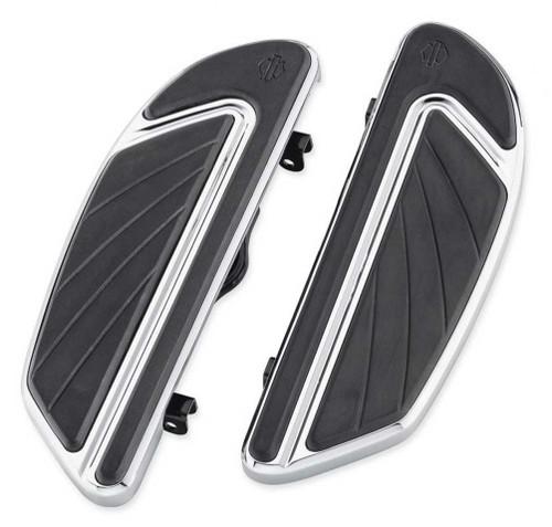 Harley-Davidson® Airflow Rider Footboard Kit - Chrome, Softail Models 50500436 - Wisconsin Harley-Davidson