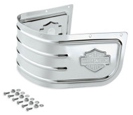 Harley-Davidson® Bar & Shield Fender Skirt - Chrome, Fits Softail Models 59228-91 - Wisconsin Harley-Davidson