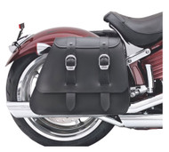 Harley-Davidson® Heavy Leather Saddlebags -Fits Softail Rocker Models 90240-08 - Wisconsin Harley-Davidson