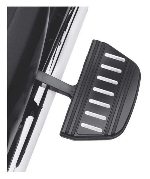 Harley-Davidson® Edge Cut Passenger Footboard Insert Kit, Traditional 54196-10 - Wisconsin Harley-Davidson