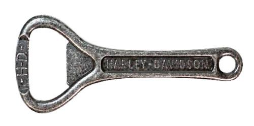 Harley-Davidson® Engraved H-D Script Bottle Opener, Antique Zinc Alloy BO51620 - Wisconsin Harley-Davidson