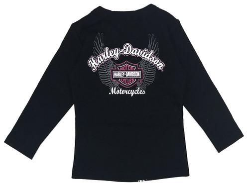 Harley-Davidson® Baby Girls' Biker Babe Tee & Doo Rag Newborn Starter Kit 2503717 - Wisconsin Harley-Davidson