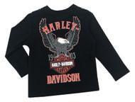 Harley-Davidson® Baby Boys' Biker Dude Tee & Doo Rag Newborn Starter Kit 2553715 - Wisconsin Harley-Davidson