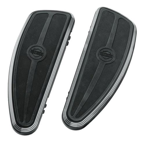 Harley-Davidson® Burst Rider Footboard Kit, Softail & Touring Models 50500244A - Wisconsin Harley-Davidson