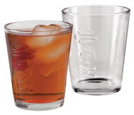 Harley-Davidson® H-D Embossed Bar & Shield Tumbler Glasses 2-Pak, 12 oz HDL-18780 - Wisconsin Harley-Davidson