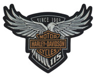 Harley-Davidson® 115th Anniversary Eagle Emblem Patch Large 8 x 6 Limited Edition - Wisconsin Harley-Davidson