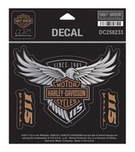 Harley-Davidson® 115th Anniversary Eagle Decal, Medium 5.25 x 4 Limited Edition - Wisconsin Harley-Davidson