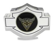 Harley-Davidson® 115th Anniversary Collectors Lucite & Challenge Coin 8008383 - Wisconsin Harley-Davidson