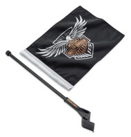 Harley-Davidson® 115th Anniversary Limited Edition Flag Kit, Tour-Pak 61400523 - Wisconsin Harley-Davidson