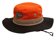 Harley-Davidson® Men's Colorblocked Embroidered Boonie Cotton Twill Hat HD-476 - Wisconsin Harley-Davidson