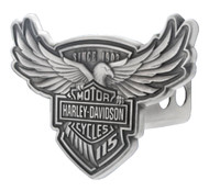 Harley-Davidson® 115th Anniversary Trailer Hitch Cover, Engraved 2 Inch HDHC115 - Wisconsin Harley-Davidson