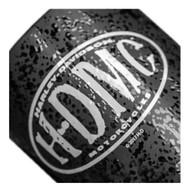 Harley-Davidson® Myst H-DMC Textured Ceramic Coffee Cup, Black 15 oz. 3MLM4925 - Wisconsin Harley-Davidson