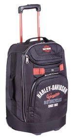 "Harley-Davidson® 21"" Tail of The Dragon Carry-On Wheeling Luggage, 99820 Black - Wisconsin Harley-Davidson"