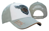 Harley-Davidson® Women's 115th Anniversary Colorblocked Baseball Cap, BCC25963 - Wisconsin Harley-Davidson