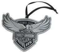 Harley-Davidson® 115th Anniversary Limited Edition Pewter Ornament HDX-99102 - Wisconsin Harley-Davidson