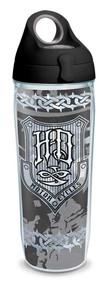 Harley-Davidson® HDMC Iron Plate Water Bottle w/ Black Lid, 24 oz. 1274558 - Wisconsin Harley-Davidson