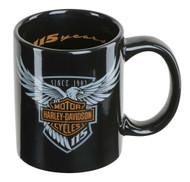 Harley-Davidson® 115th Anniversary Limited Edition Coffee Mug, 12 oz. HDX-98600 - Wisconsin Harley-Davidson