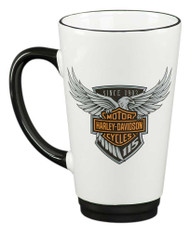 Harley-Davidson® 115th Anniversary Limited Edition Latte Mug, 16 oz. HDX-98601 - Wisconsin Harley-Davidson