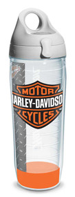 Harley-Davidson® Bar & Shield Logo Water Bottle w/ White Lid, 24 oz. 1124953 - Wisconsin Harley-Davidson