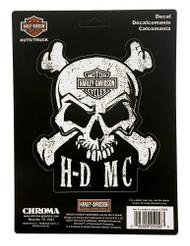 Harley-Davidson® Skull & Crossbones Stick Onz Decal Set, 6 x 8 inches CG25056 - Wisconsin Harley-Davidson